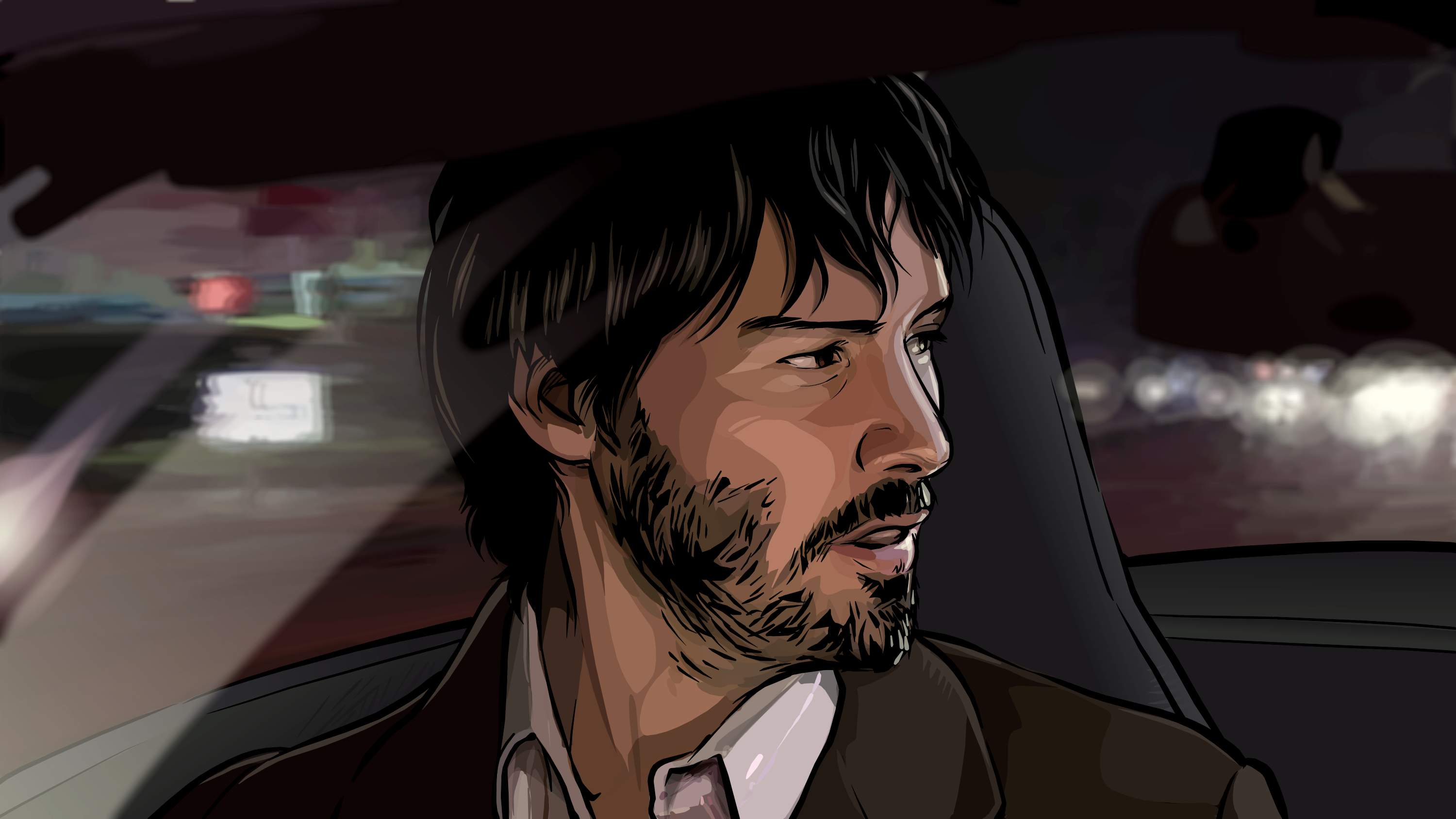 a scanner darkly Directed by richard linklater with keanu reeves, winona ryder, robert  downey jr, rory cochrane an undercover cop in a not-too-distant future  becomes.